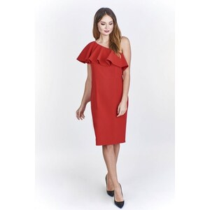 Ptakmoda Koktejlové šaty červené - Glami.cz b1bb6a1a70