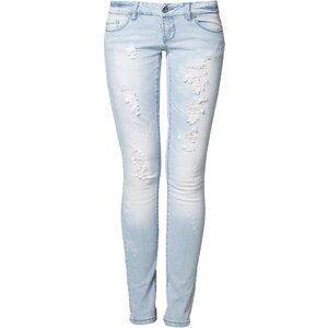 ONLY CORAL Jeans Slim Fit light blue denim