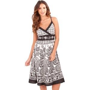CONTINENTAL Dámské šaty Indiana černobílé - Glami.cz 9e211aed45