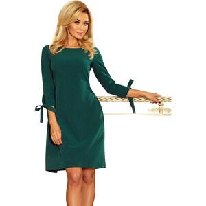 NUMOCO Zelené šaty ALICE 195-1 - Glami.sk bfb679c0e68
