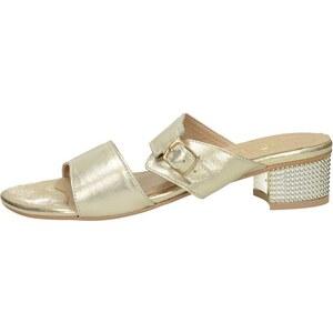 c1589837c0 Olivia shoes dámske elegantné šľapky s remienkom - zlaté - Glami.sk