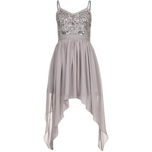 Frock and Frill Cocktailkleid / festliches Kleid light grey