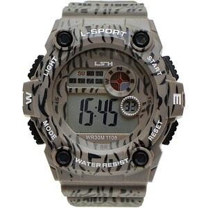 Hodinky LSH s-watch 1108 šedá - Glami.cz 38affbced1