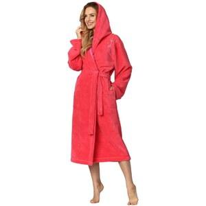 L L Női hosszú fürdőköpeny Jackie rózsaszín - Glami.hu ca75bd8ea4