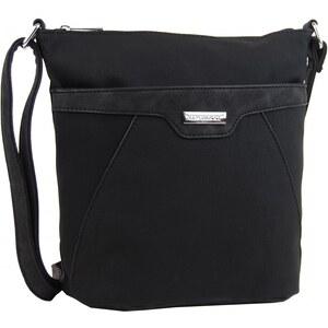 NEW BERRY Crossbody kabelka s čelní zipovou přihrádkou HB022 černá -  Glami.cz 87881efd240