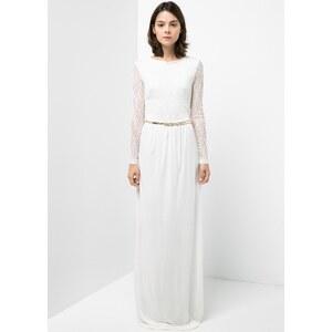MANGO Kleid Mit Seidenspitze