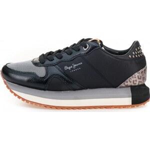 9976ef0ae6 Pepe Jeans dámské tenisky Zion Studs 40 černá - Glami.cz