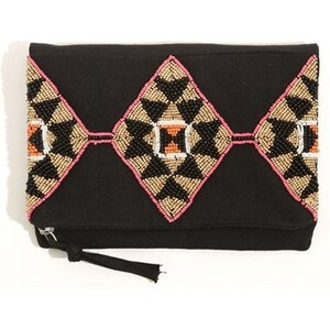 PIMKIE Clutch mit Perlen-Applikation