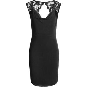 Esprit Mesh Etui-Kleid mit Spitze