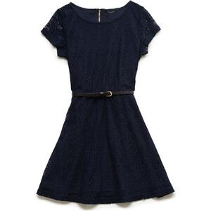 FOREVER21 girls Kleid mit Häkelüberzug (Kinder)