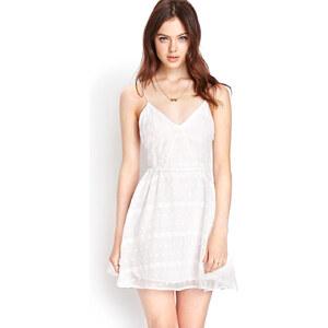 FOREVER21 Kleid mit Stickereien