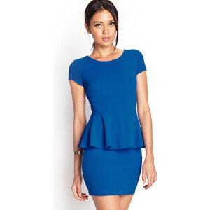 FOREVER21 Peplum Kleid mit Textur
