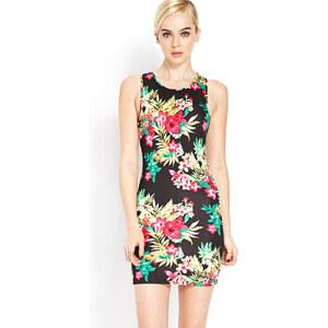 FOREVER21 Kleid mit tropischem Blumenmuster