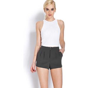 FOREVER21 Gewebte, plissierte Shorts