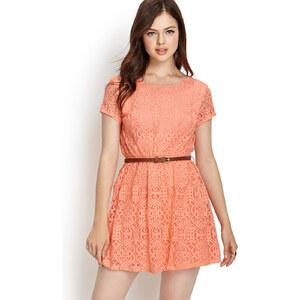 FOREVER21 Kleid mit kunstvollem Print