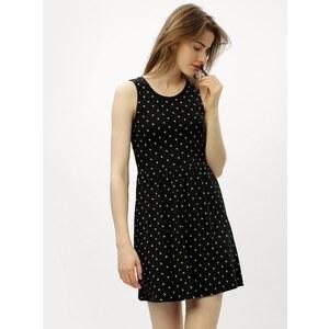 b444c25e8d84 Čierne šaty s prestrihom na chrbte ONLY Olivia - Glami.sk