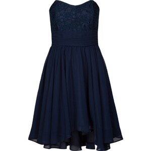 Swing Cocktailkleid / festliches Kleid ultramarin