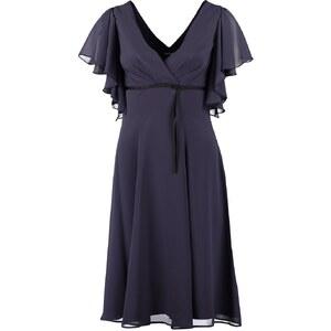 Swing Cocktailkleid / festliches Kleid azurblau