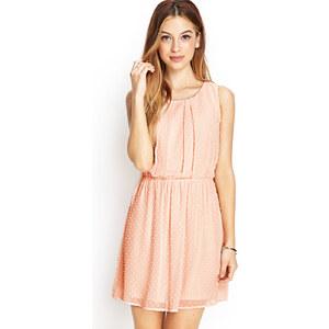 FOREVER21 Ausgestelltes Kleid mit Punkten