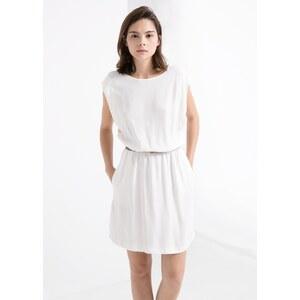 MANGO Kleid Mit Knopf Hinten