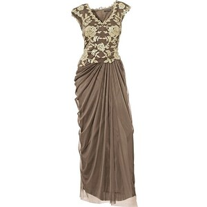 Ashley Brooke Abendkleid, taupe
