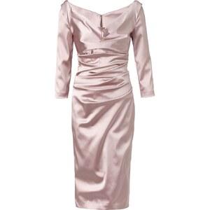 TALBOT RUNHOF Kleid, Drapierungen, tailliert