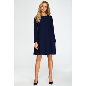 e07214f07edf Tmavomodré šaty Style 137 - Glami.sk