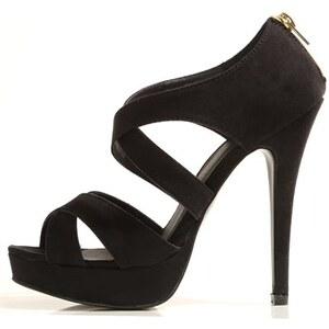 PIMKIE Sandaletten in Schwarz mit Absatz