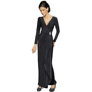 Alba Moda Jerseykleid, schwarz