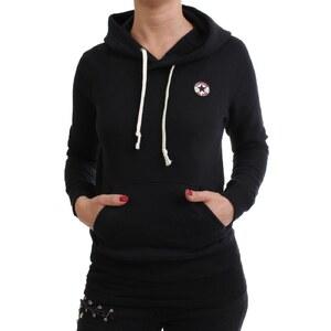 Converse Sweater Women - CORE POPOVER 04614C - Jet Black Größe L