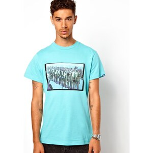 Vans T-Shirt Miss Babe And Waves Photo Print Slim Fit