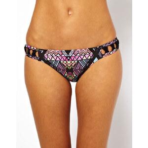 Minkpink – Bikinihose mit Kritzelmuster