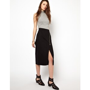Cheap Monday Zipped Pencil Skirt