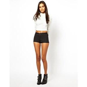 ASOS – Disco – Glänzende Shorts