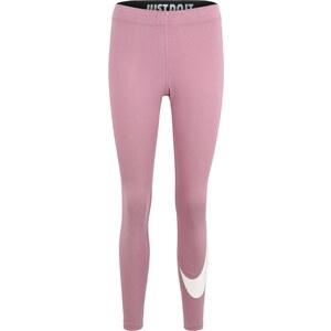 d4f700463c5a Nike Sportswear Legíny  W NSW LEGASEE LGGNG SWOOSH  fialová   bílá -  Glami.cz