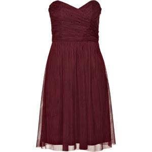 ESPRIT Bandeau-Kleid rot