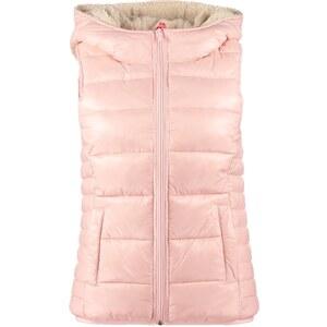 ONLY LOCK SHERPA Weste silver pink