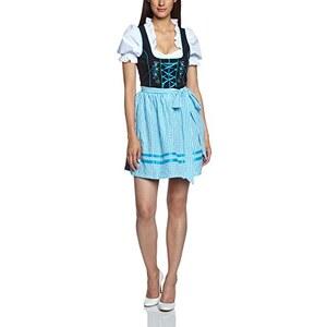 Edel Herz Damen Dirndl Kleid N9830B