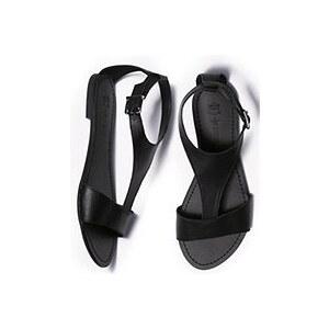Große Größen: Next Sandale, Schwarz, Gr.35,5-42