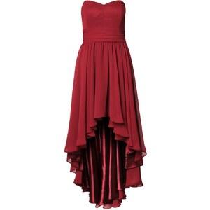 Swing Cocktailkleid / festliches Kleid kaminrot