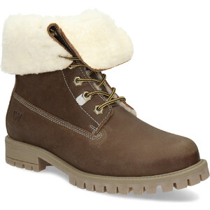 d7cdd9878c Weinbrenner Dámska hnedá kožená zimná obuv - Glami.sk