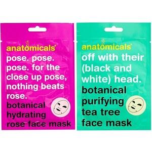 Anatomicals - Mask Your Horribleness - Masque pour le visage aux extraits botaniques 50 g - Clair