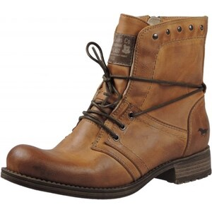 Mustang Bottines à lacets braun