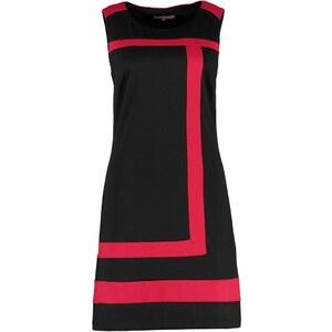 Anna Field Jerseykleid black/red