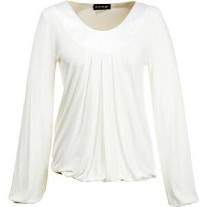 BODYFLIRT Langarmshirt in beige für Damen von bonprix