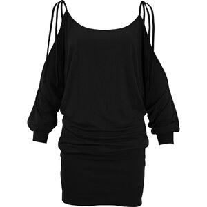 BODYFLIRT boutique Kleid 3/4 Arm figurumspielend in schwarz von bonprix