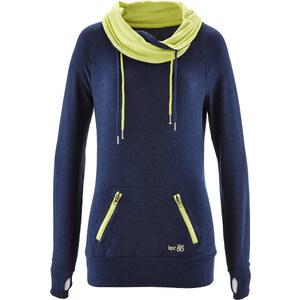 bpc bonprix collection Langarm-Sweatshirt in blau für Damen von bonprix