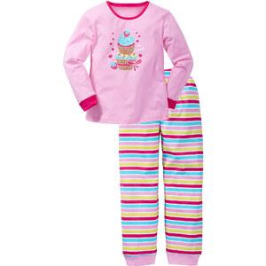 bpc bonprix collection Schlafanzug (2-tlg.) in rosa für Mädchen von bonprix