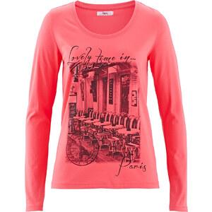 bpc bonprix collection Stretch-Shirt, Langarm in pink für Damen von bonprix