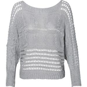 RAINBOW Pullover in grau für Damen von bonprix